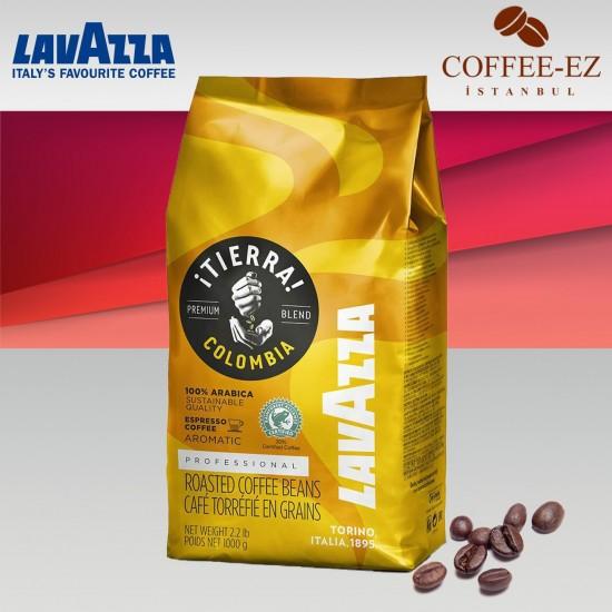 Lavazza ITierra Colombia Çekirdek Kahve 1 KG